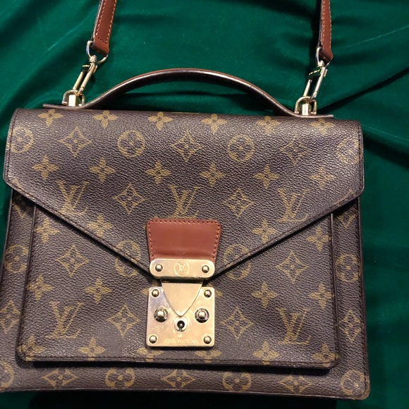 5e9c21d2e9d0 Louis Vuitton Handbags - Monceau Shoulder Bag with strap.